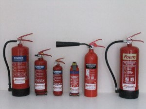 Types Of Different Fire Extinguishers Used In A Premises