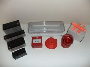 Fire Alarms & Other parts for them are part of RAD Fire- Fighting Equipment.