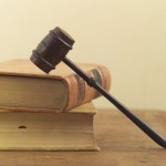Picture Of Legal Books & hammer
